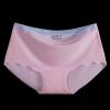 กางเกงในไร้ขอบแถบสี สีชมพู