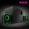 NS030 NUBWO2.1ch Speaker USB/5W สีเขียว