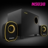 NS030 NUBWO2.1ch Speaker USB/5W สีเหลือง