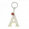 พวงกุญแจตัวอักษร A 12อัน