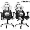 เก้าอี้ เกมมิ่งNUBWO ERGONOMIC GAMING CHAIR รุ่น CH-007 สีขาวดำ