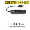 NCR100 NUBWO HUB USB 4Port