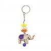 พวงกุญแจช้าง สีม่วง(พลาสติก)
