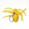 พวงกุญแจยาง แมงมุมสีเหลือง