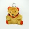 พวงกุญแจผ้าสักหลาด หมีรับปริญา 12อัน