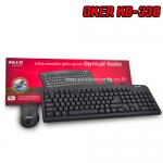 KB338 BLACK OKER KEYBOARD+MOUSE USB