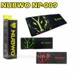 NP-009 NUBWO MOUSEPAD GAMINGไร้ขอบ