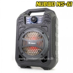 NS-61 NUBWO BARREL MULTIMEDIA Speaker BLUETOOTH