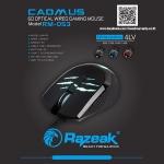 RAZEAK MOUSE GAMING RM-053 6D