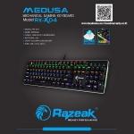RAZEAK KEYBOARD GAMING รุ่น RKX-04 แบบ Mechanical blue switch