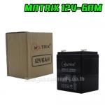 12V/6 AM BATTERY UPS MATRIX