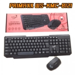 WS-KMC-8121 PRIMAXX KEYBOARD+MOUSE ไร้สาย