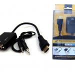 MN033 CABLE VGA (F)TO HDMI (M) + SOUND 23CM