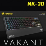 NK-30 NUBWO VAKANT KEYBOARD USB LED SOUND LIGHT