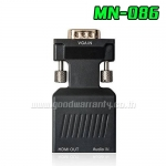 MN086 ADAPTER VGA (M)TO HDMI (F) + AUDIO DC/5V