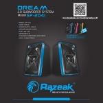 SP-2041 RAZEAK DREAM SPEAKER USB