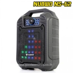 NS-62 NUBWO FUELZ MULTIMEDIA Speaker BLUETOOTH