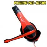 NO-003 NUBWO HEADPHONE+MIC