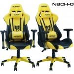 เก้าอี้ เกมมิ่งNUBWO ERGONOMIC GAMING CHAIR รุ่น CH-007 สีเหลืองดำ