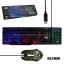 K-3+M-30 MD-TECH K/B+MOUSE USB LED RAINBOW