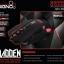 GM-909+PAD BLACK SIGNO GAMING 2000DPI LED 7สี