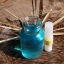ชุดทำยาดม ผสม น้ำมันเปปเปอร์มินทร์ (สีฟ้าอ่อน)+หลอดยาดมทูเวย์