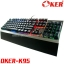 K95 BLACK OKER KEYBOARD Macro Mechanical