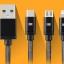 สายชาร์จ Earldom 3 in 1 iPhone+Micro USB+TYPE-C thumbnail 2