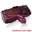 KM400 MARVO KEYBOARD+Mouse 6ปุ่ม USB