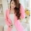 เสื้อสูทผู้หญิงแฟชั่นสีชมพู แบบสวยหวานสไตล์เกาหลี S/M/L/XL/2XL รหัส CB-1822 หมวดหมู่ เสื้อสูทผู้หญิง
