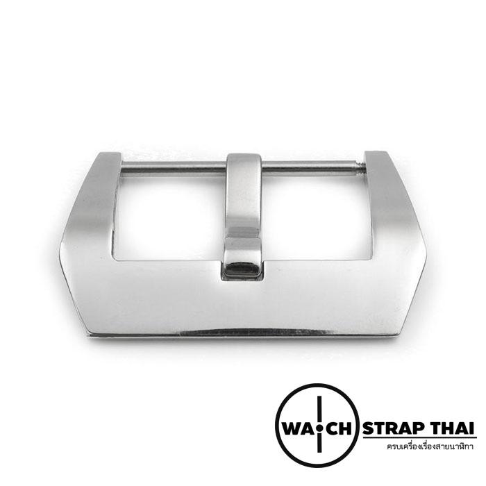 หัวบัคเคิลนาฬิกาทรง Panerai หัว Buckle Pam Stainless Silver ขนาด 20 , 22 ,24 mm