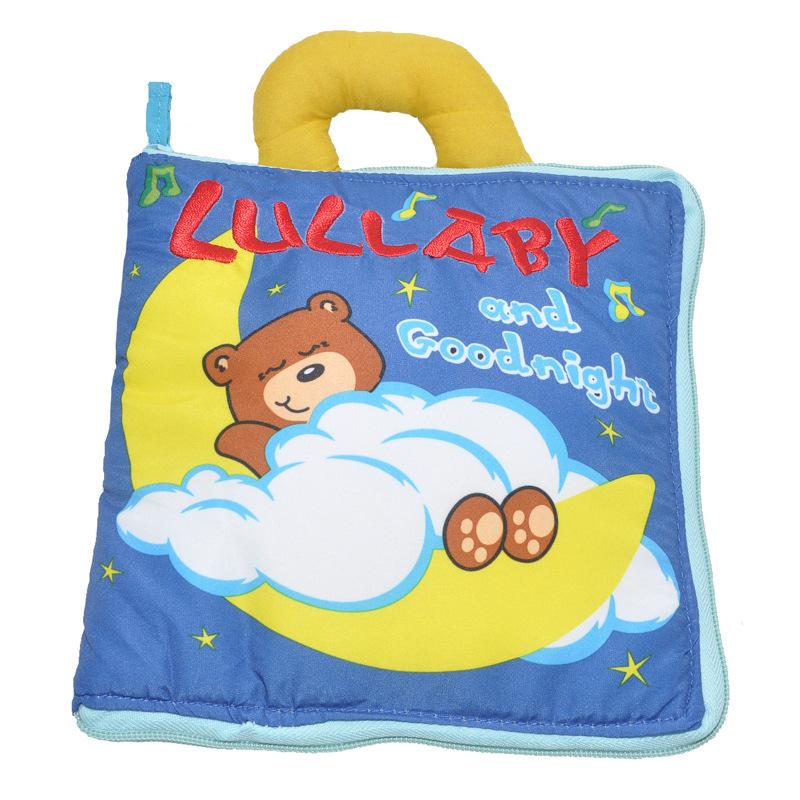 หนังสือผ้านอนหลับฝันดี LULLABY and Goodnight Soft Book