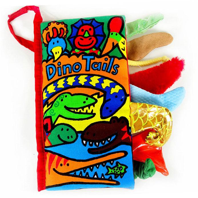 หนังสือผ้ามีหาง Dino Tail by Jollybaby