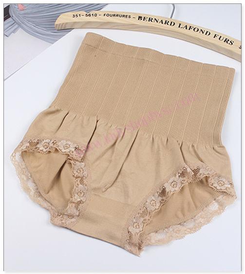 กางเกงในเก็บหน้าท้อง สีเนื้อ