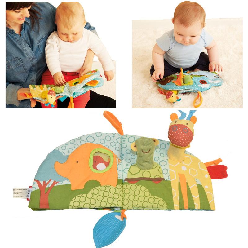 หนังสือผ้าโมบายสอดนิ้ว SKK Baby Puppet Activity Book
