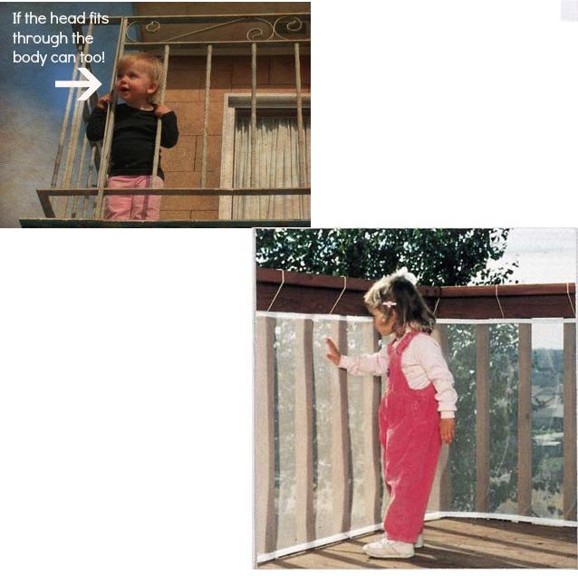 ตาข่ายกันเด็กตกระเบียง Children 's Balcony Safety Net