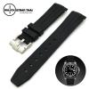 สายนาฬิกายาง RUBBER B สำหรับ ROLEX ขนาด 20 mm RUBBER B WATCH STRAP BLACK