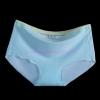 กางเกงในไร้ขอบแถบสี สีฟ้า