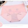 กางเกงในไร้ขอบพิมพ์ลายน่ารัก สีชมพู