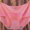 กางเกงในไร้ขอบ สีชมพู โอรส
