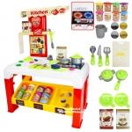 โต๊ะทำอาหารแป้งโดว์ Color Dough Series Kitchen Shop