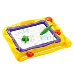 กระดานวาดภาพแม่เหล็กเขียนลบ 4 สี มีตัวปั๊ม Colour Magnetic Drawing Board