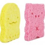 Auge ฟองน้ำธรรมชาติจากใยพืช Natural Cellulose Sponge
