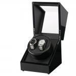 กล่องหมุนนาฬิกา AUTOMATIC WATCH WINDER BLACK กล่องใส่นาฬิกา 2 เรือน