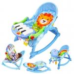 เปลโยกเปียโน Baby pedal gym chair