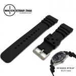 สายนาฬิกายาง ทรง Seiko Ruber Watch Strap สายนาฬิกายาง SEIKO มีขนาด 20,22,24 mm