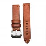 สายนาฬิกา สายนาฬิกาหนังวัว SET02 Leather Strap มีสี Brown Tan สีน้ำตาลแทน ขนาดความกว้างสาย 20 , 22 mm