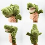 ตุ๊กตาหุ่นมือจระเข้ หัวใหญ่ ขนนุ่มนิ่ม สวมขยับปากได้