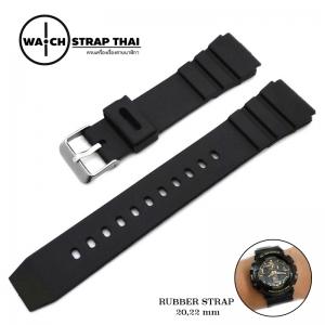สายนาฬิกายาง ทรง G-Shock SET02 Silicone Watch Strap มีขนาด 18, 20,22 mm