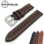 สายนาฬิกา สายนาฬิกาหนังวัว SET05 Leather Strap สีน้ำตาลเข้ม Dark Brown ขนาด 22,24 มม สำหรับ Panerai,seiko